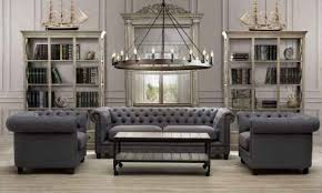 мягкая мебель в стиле лофт фото