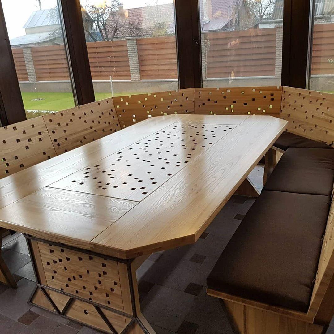 Садовая мебель из дерева (82 фото): деревянные изделия из бревна ... | 1080x1080