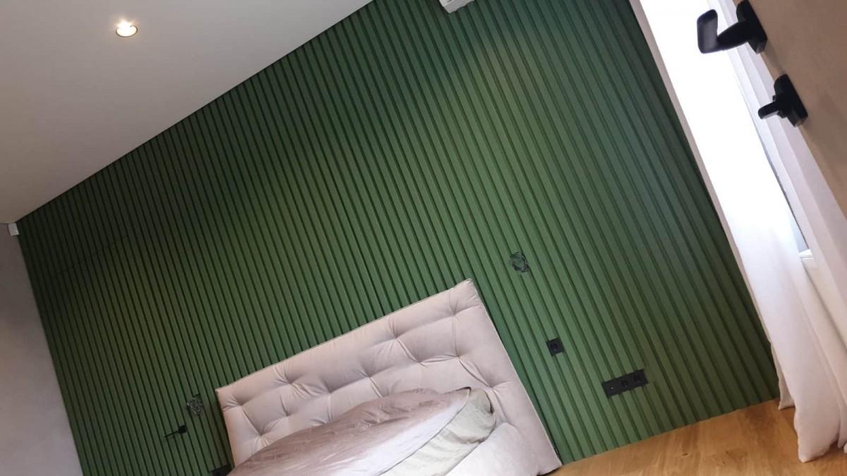 Декорирование стен и двери скрытого монтажа